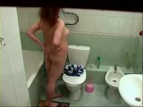 Just my chubby girlfriend totally nude in bath room. Hidden cam - xHamster.com